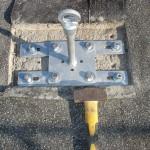 Gancio per attracco linea vita | Safety Service, Rosignano, Livorno