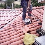 Fase di lavoro installazione linea vita | Safety Service, Rosignano, Livorno