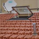 Fase installazione linea vita su tetto | Safety Service, Rosignano, Livorno