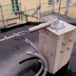 Pilastro con aggancio per linea vita | Safety Service, Rosignano, Livorno