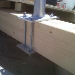 Lavoro sottotetto per linea vita | Safety Service, Rosignano, Livorno