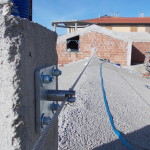 Passante verticale murato linea vita | Safety Service, Rosignano, Livorno