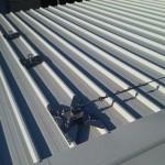 Installazione linee vita su tetto grecato (capannone) | Safety Service, Rosignano, Livorno | Safety Service, Rosignano, Livorno